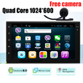 Qual Core 7 Full Touchscreen Android 5 1 Car Tablet PC Double 2Din In Dash Car