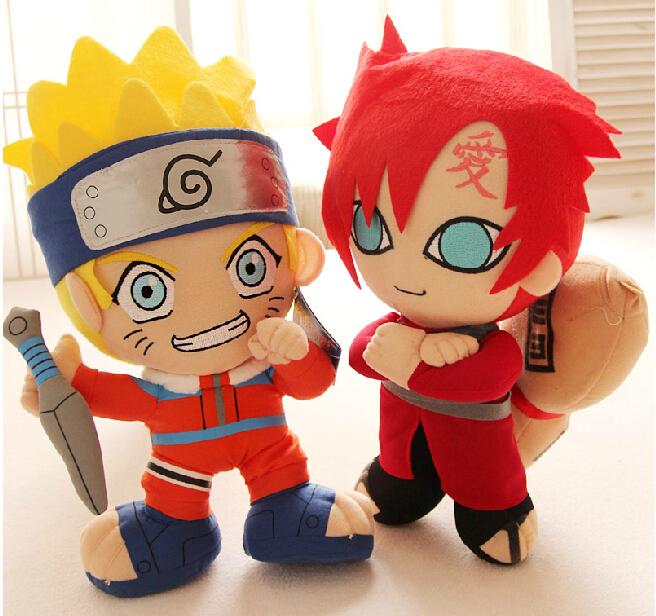 Naruto Doll Plush Kids Toys For Boy Dolls Gift one piece(China (Mainland))