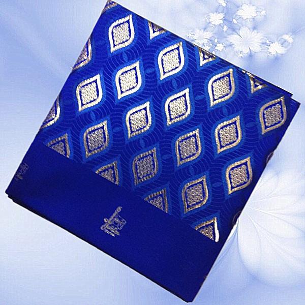Htx2- 4, hochwertige afrikanische sego kopf binden! Wunderbare design bestickt headtie, gele kopfbedeckungen Royal blue+silver!(China (Mainland))