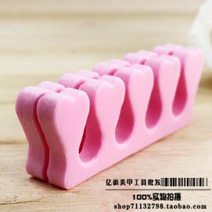 EVA Sponge foam toe Finger separator Nail Tools Nail Art Salon Pedicure Manicure Tool Feet Care(China (Mainland))