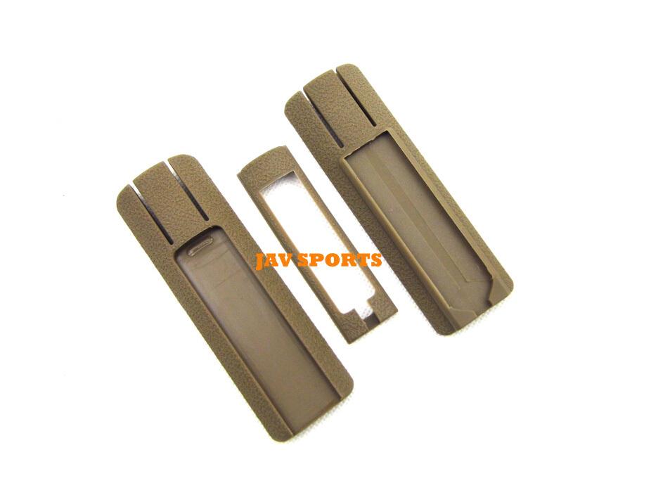 "Element 4.125"" ITI SCAR Pocket Panel Remote Switch Rail Pads Set,DE,BK,FG+Free shipping(SKU12050194)(China (Mainland))"