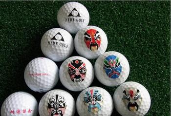 Free  SHIPPING Free Customized logo print golf 2 layer golf ball clubs brand new golf balls Soft golf balls