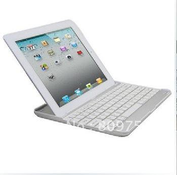 Ultra Slim Aluminium wireless Bluetooth Keyboard for ipad 3 2 .50pcs/lot,EMS DHL free shipping