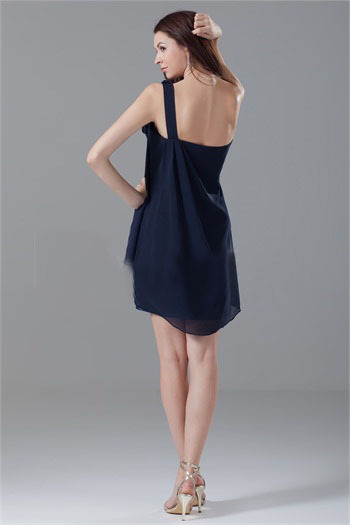 2014 Fall Navy Cocktail Dresses New Fashion Fall Sxey
