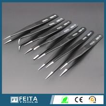 FEITA 7pcs/lot repair tool for Forcep maintenance kits Nipper Crafts Making clamp ESD Anti -static Stainless steel tweezers