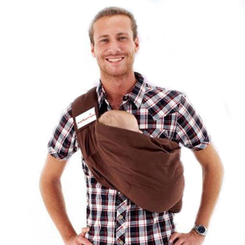 Baby Sling Backpack Cotton Baby Carrier Shoulder Front Carry Infant Kangaroo Ring Hip Seat Sling Wrap New 2015 -- MKD013 PT49