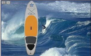 Inflatable Surf board kayak SUP board(China (Mainland))