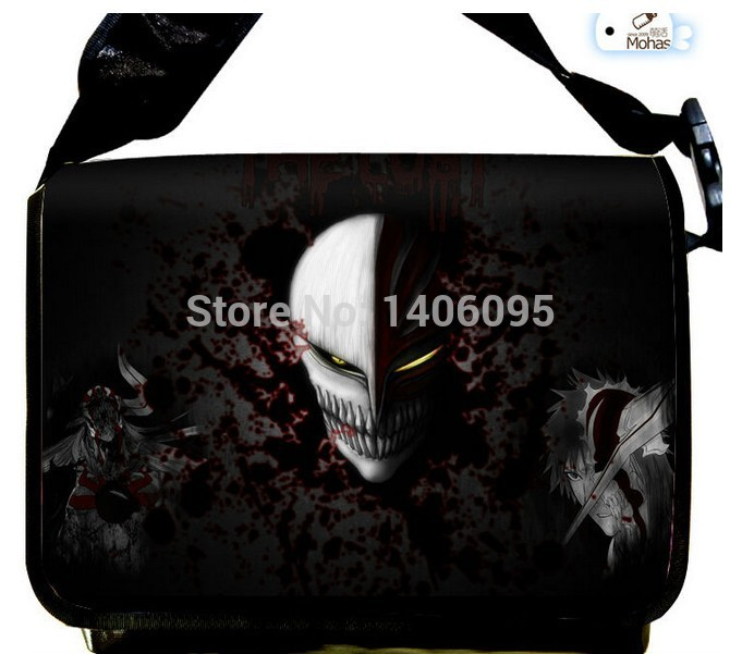 HOT NEW Japanese Anime BLEACH Cosplay Messenger Bags Liangpi Satchel Shoulder Bag(China (Mainland))
