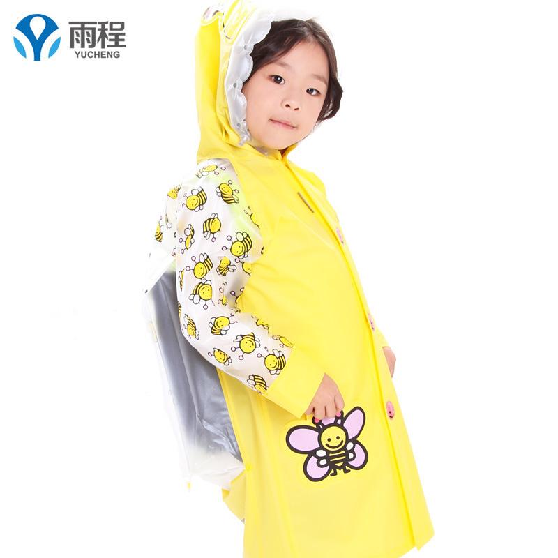 2015 Boys Polymorph Girls Chlidren Rainwear Trench Shipping Funny Rain Coat Kids Children ,raincoat Waterproof Animal Raincoat(China (Mainland))