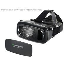 """VR 3D Gafas de Realidad Virtual montado en la Cabeza de Vídeo Juego de la Película de Cristal para 3.5 ~ 6 """"Teléfonos Android iOS ajustable pupila distancia del objeto(China (Mainland))"""