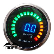 Buy MOFE Racing SPECIAL OFFER Smoke Lens 20 LED Digital 52mm 2 Inch Bar Vacuum Gauge Meter Logo + Sensor for $19.80 in AliExpress store