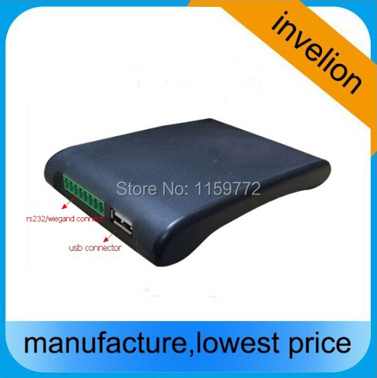 ISO 18000-6B&ISO 18000-6C(EPC Gen2) RFID UHF Reader writer with free card for testing(China (Mainland))