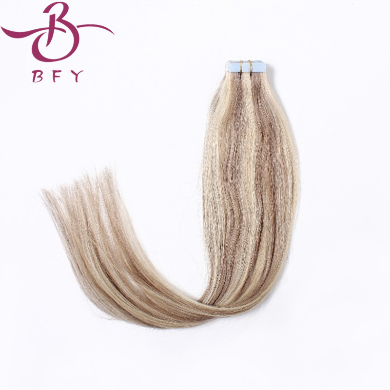 20inch 50cm Tape in remy Human Hair Extensions Piano colors 50gram (20pcs/set) P08/613 color popular trend<br><br>Aliexpress