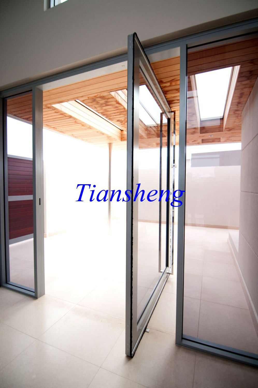 Pivot Hinge Door and Pivot Entry Doors for Modern House or Commercial Building(China (Mainland))