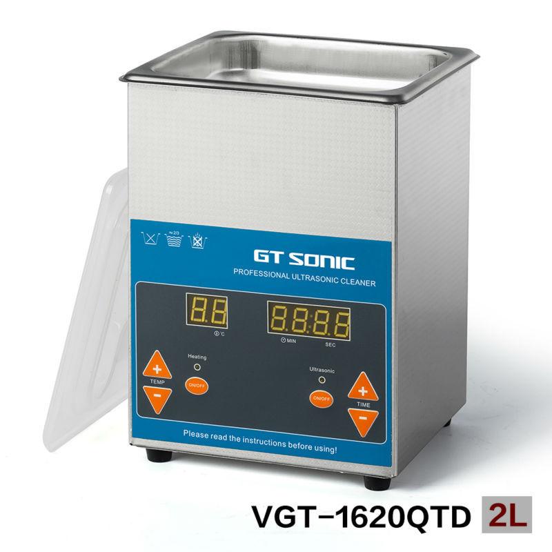 Здесь можно купить  VGT-1620QTD Professional ultrasonic cleaner jewelry 2L  Бытовая техника