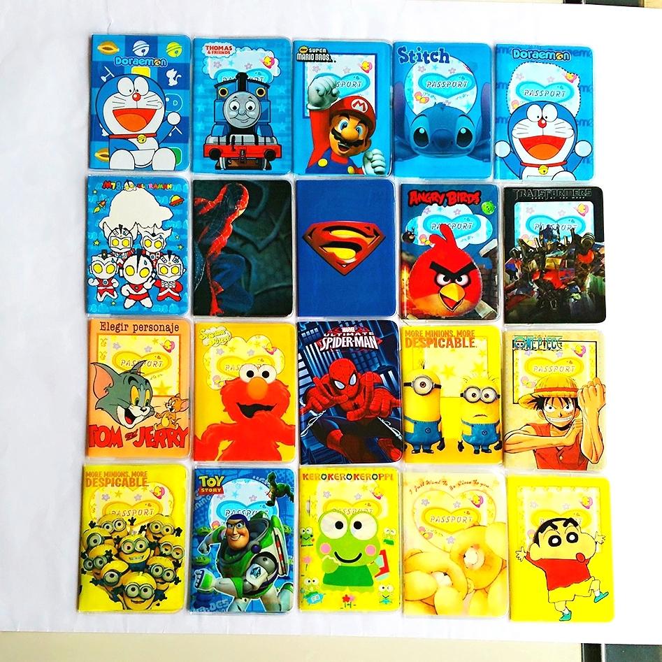 2016 Cartoon Batman Credit Card Holder,PVC Leather ID Card Bag,Business Porte Carte Simple,Travel Passport Cover 14*9.6CM purse<br><br>Aliexpress