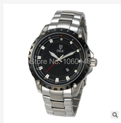Limited time special high-end men's stainless steel watch brand new fashion watches the entity shop watch wholesale table(China (Mainland))