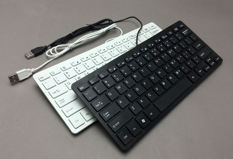 78 Keys Mini Ultra Thin Portable USB Wired Keyboard for Apple android For PC Computer Laptop iMac Macbook Windows XP/7/8(China (Mainland))