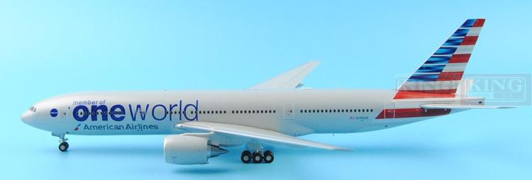 GeminiJets American Airlines N796AN G2AAL526 1:200 B777-200 commercial jetliners plane model hobby(China (Mainland))