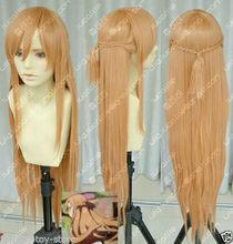 LL NEW STYLE >>>New Sword Art Online Asuna Yuuki Braid Cosplay Wig - lu'store store