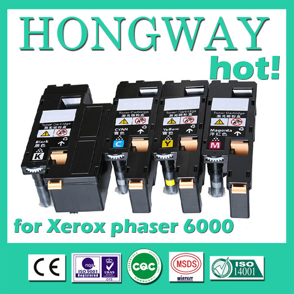 Картридж для принтера HONGWAY Xerox Phaser 6000 6010 WorkCentre 6015, 106R01634/31/32/33 Phaser 6000/6010/WorkCentre 6015 toner for fuji xerox workcentre 6015ni phaser 6015 106r1630 p 6015 laserjet cartridge printer laser powder free shipping