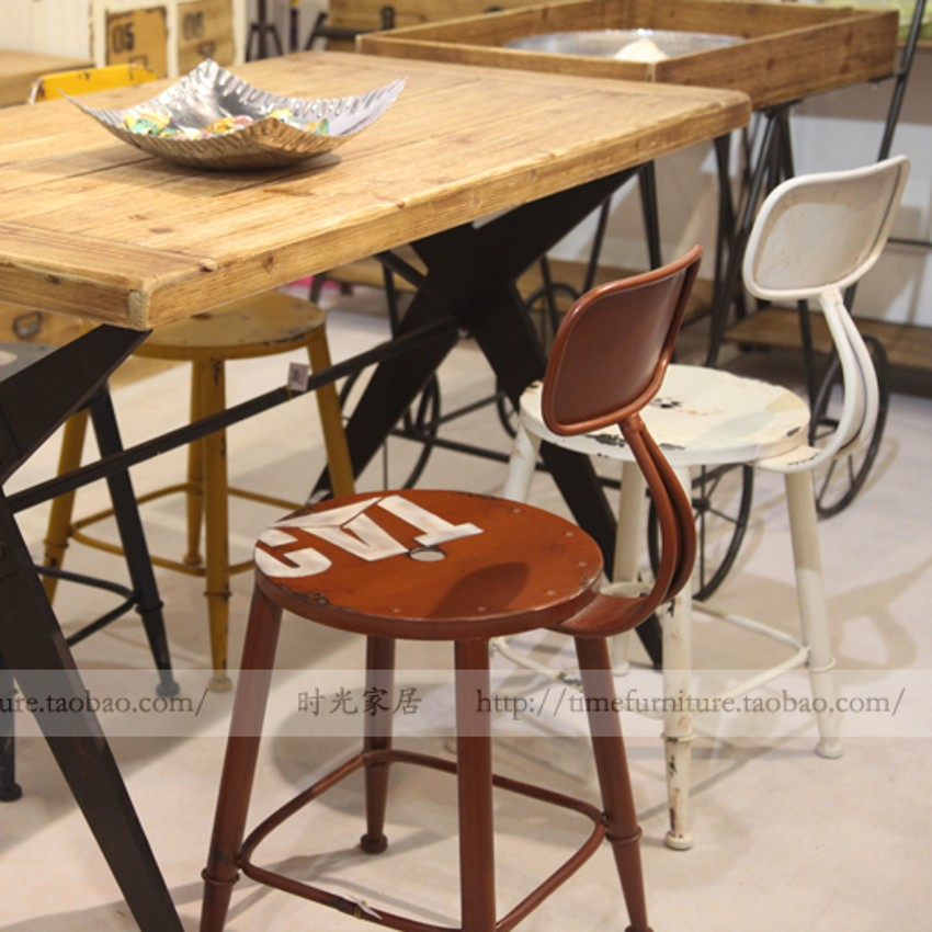 Mining chair bar stool color to do the old retro lounge coffee high<br><br>Aliexpress