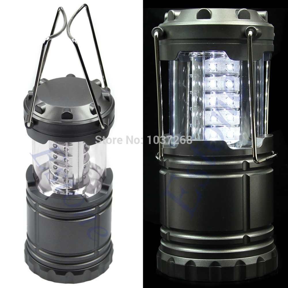 Гаджет  Free Shipping 1 PC  Portable Ultra Bright Camping Lantern Bivouac Hiking Camping Light LED Lamp New None Свет и освещение