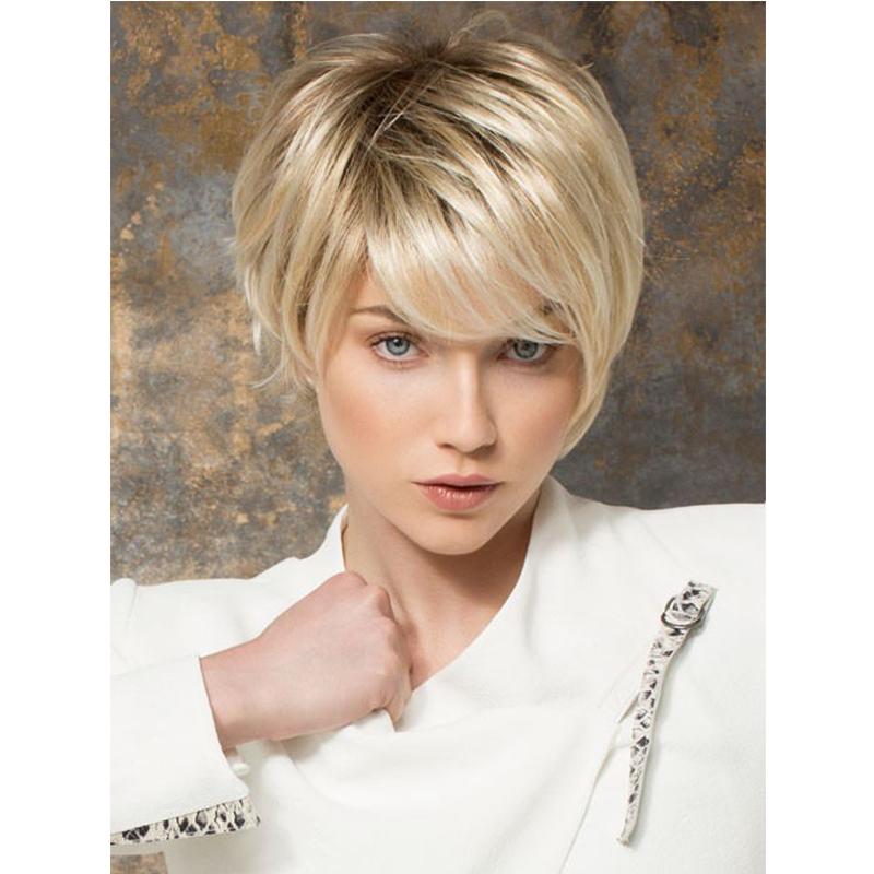 Фото женских коротких стрижек блонд