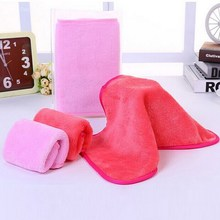 2016 High Quality 1 Pcs  Makeup Remover Towel Reusable Save yourself 100's on Remover Products #BSEL(China (Mainland))