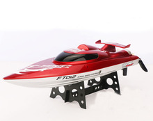 FT012 Upgraded FT009 2.4G Brushless RC Racing Boat Red F15277(China (Mainland))