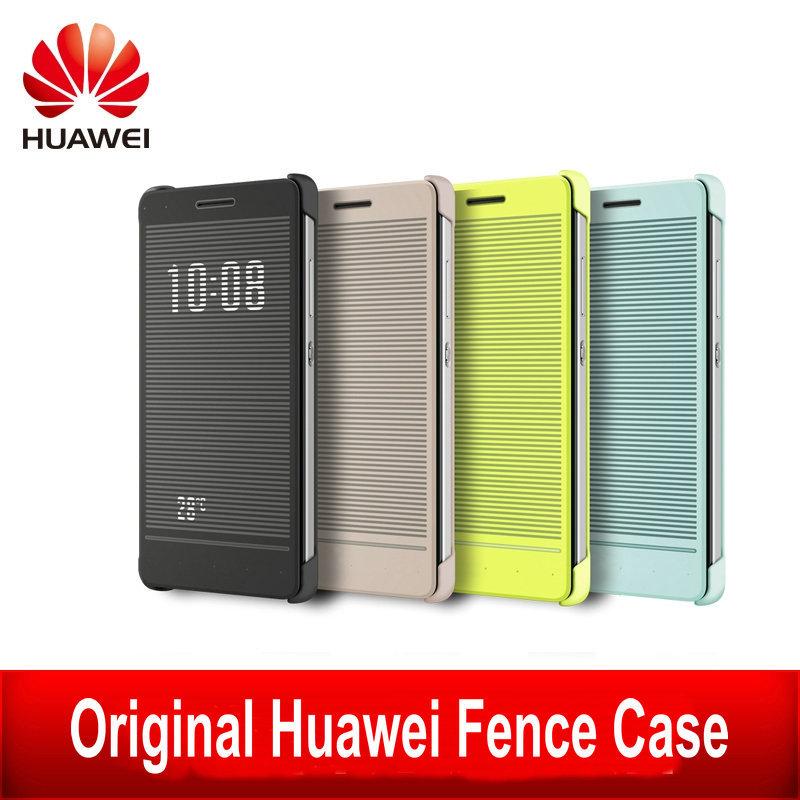 Гаджет  Original Huawei Honor 7 Fence Case Smart PU Leather Phone Cases Flip Cover Case For Honor7 with Retail Package None Телефоны и Телекоммуникации