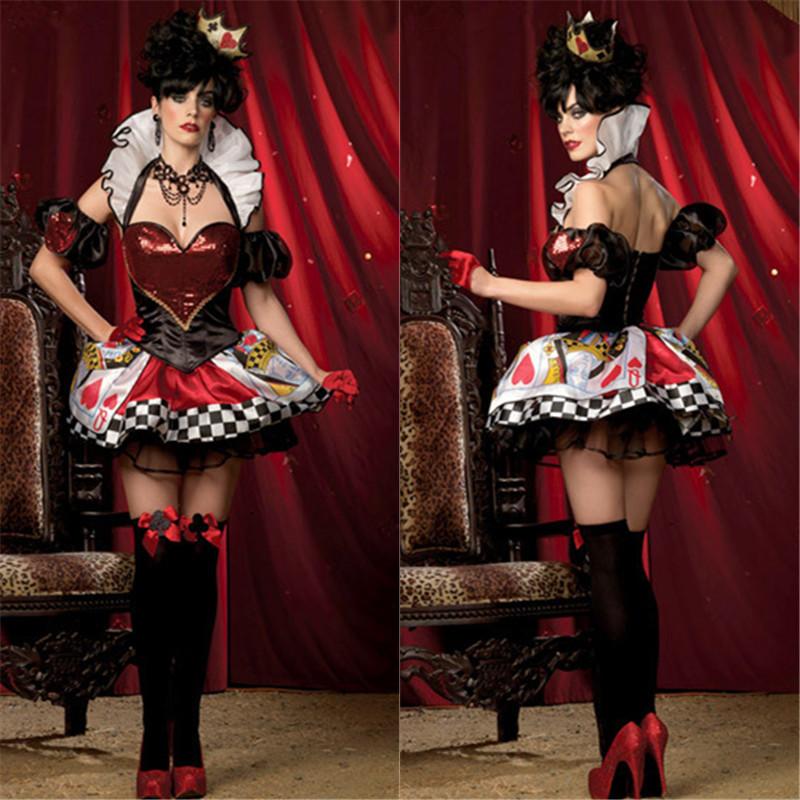 alice and wonderland red queen costume