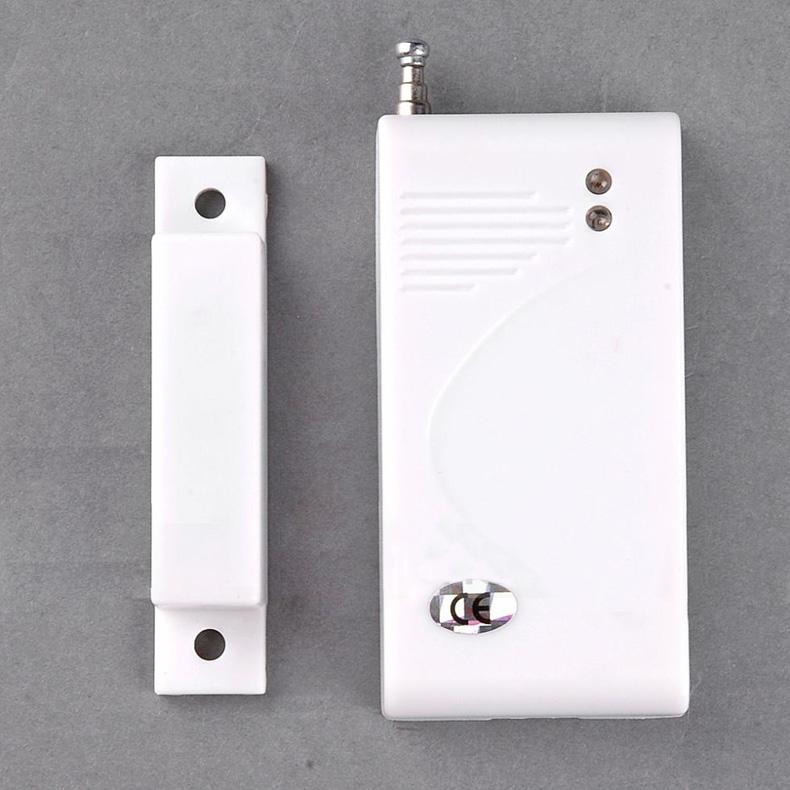 Hot Sale New White 433 Mhz Sensors Alarms Contact Wireless Door