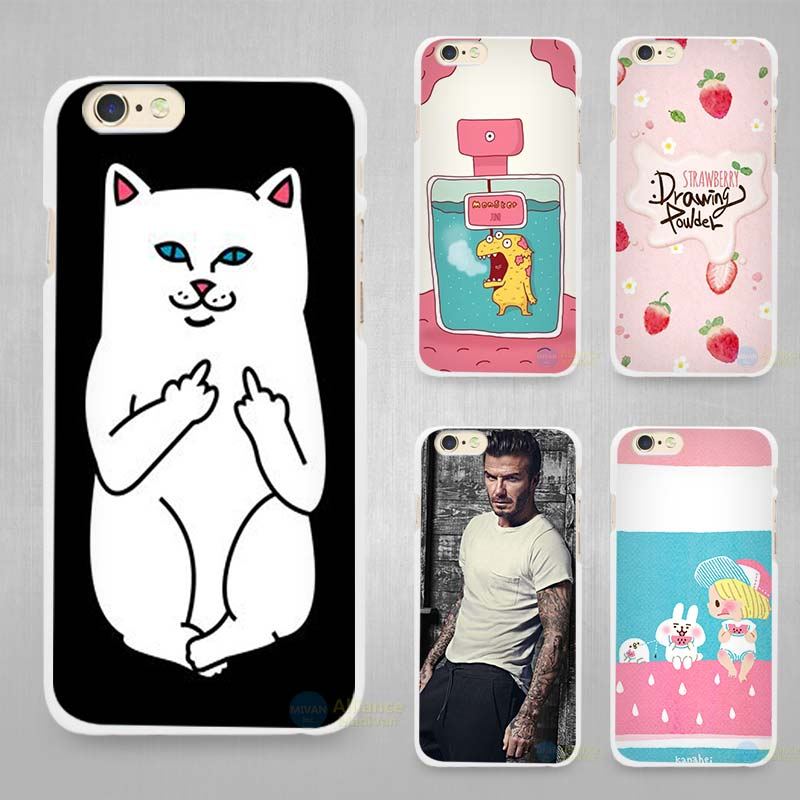 Trendy Girl Love Potion Chill Pills Ripndipp Rock Kitten Cat Hard White Cell Phone Case Cover for Apple iPhone 4 4s 5 5C SE 5s 6(China (Mainland))