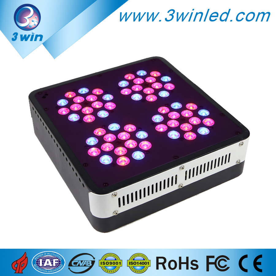 2015 New Apollo 4 60*3w LED Grow Light Full Spectrum Red/Blue/Orange/UV/IR/White for Medical Plants Flowers Best Quality(China (Mainland))