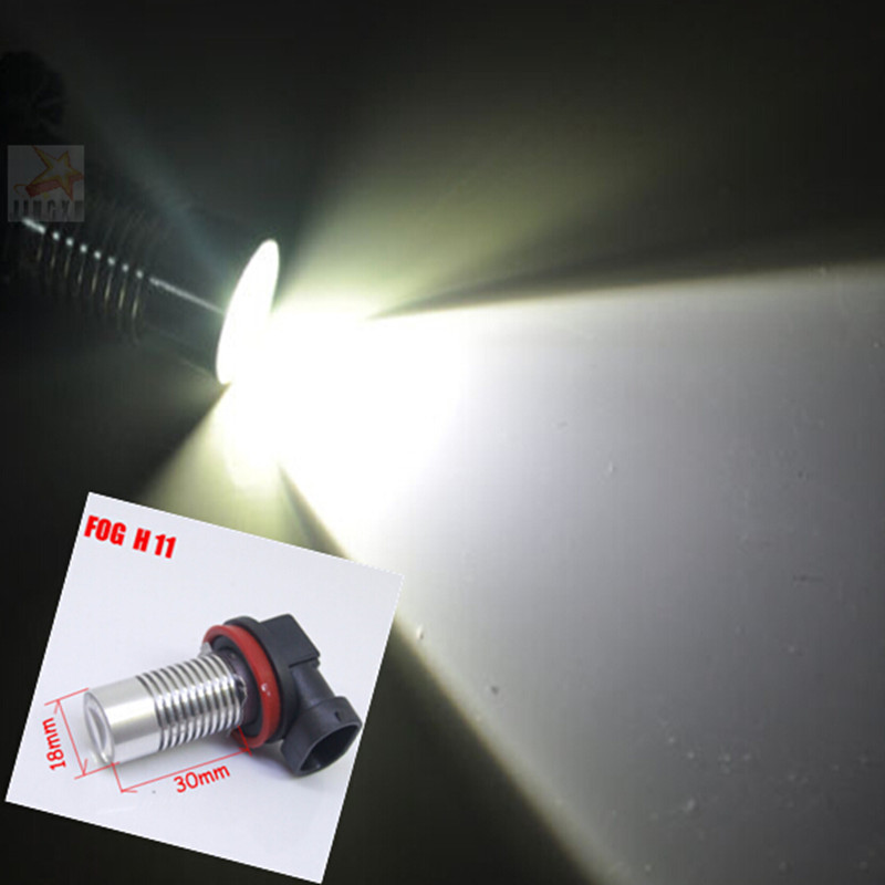 2 x H11 CREE Q5 5W LED Car Fog Light Bulbs For FORD MONDEO MK3 MK4(China (Mainland))