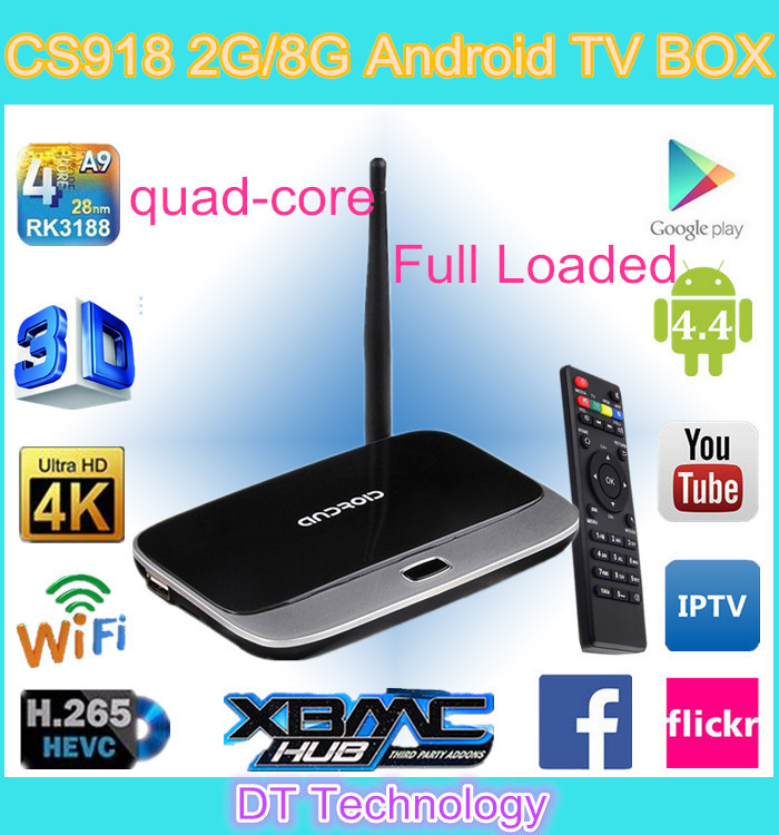 CS918 RK3188 Quad core 1.8Ghz with 2G 8G and mk888 Android 4.2.2 system WiFi Antenna+bluetooth+remote contral Hotsale 2015(China (Mainland))