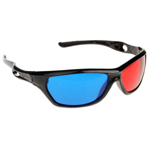 5Pcs/lot Prescription Anaglyph Red Blue 3d Glass Plasma Plastic 3D Glasses TV Movie Dimensional Anaglyph Framed 3D Vision Glass(China (Mainland))