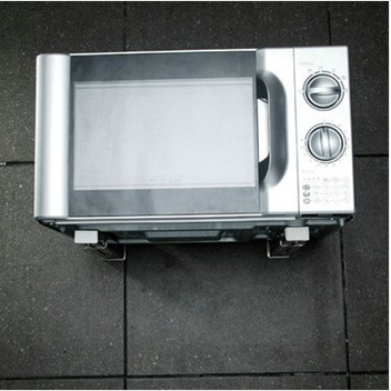 Wall Mounted Stainless Steel Microwave Shelf Folding