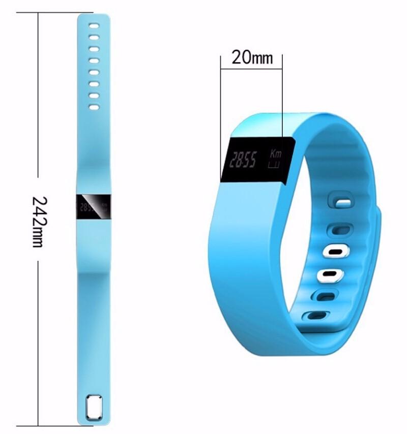 Fitness Tracker Bluetooth Smart women bracelet watches smart watch men Sports sleep tracker Wristband Pedometer For Android