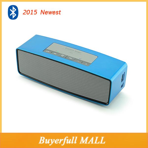 Newest wireless bluetooth speaker double subwoofer loud for Haut parleur wifi exterieur
