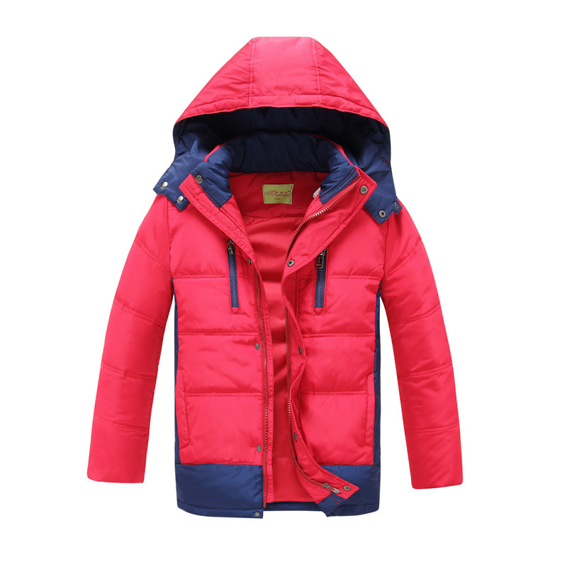 kids 2016 winter down coat male child thickening children clothing baby kids down jacket parkas boys winter jacket warm 4 colors(China (Mainland))
