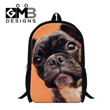 Buy Dispalang 2017 cute dog puppy backpacks primary students large back pack children animal customized design women bagpack for $19.97 in AliExpress store