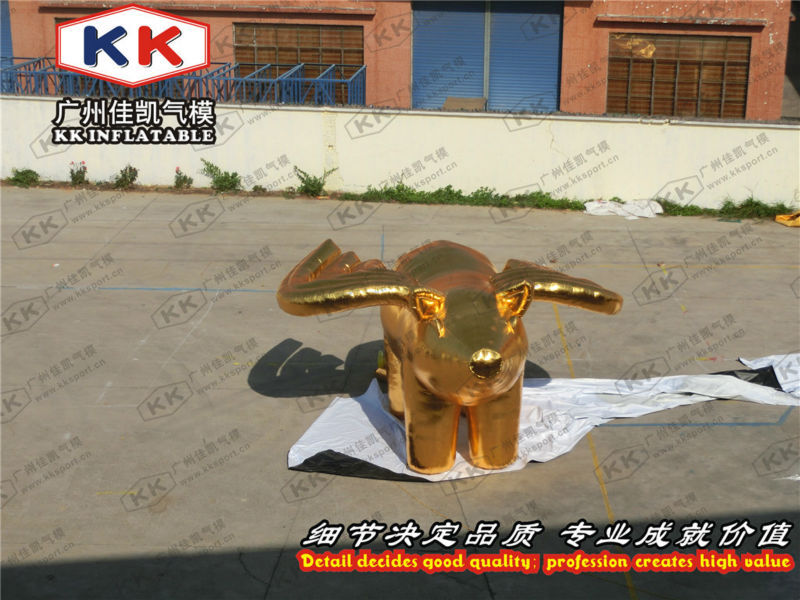Golden Pig Cartoon Inflatable Cartoon(China (Mainland))