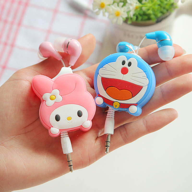 2016 New Cartoon My Neighbor Totoro Stitch Hello Kitty Music Earbuds Inear Earphone For Iphone MP3 Mobile Phone Best Gifts Kids(China (Mainland))