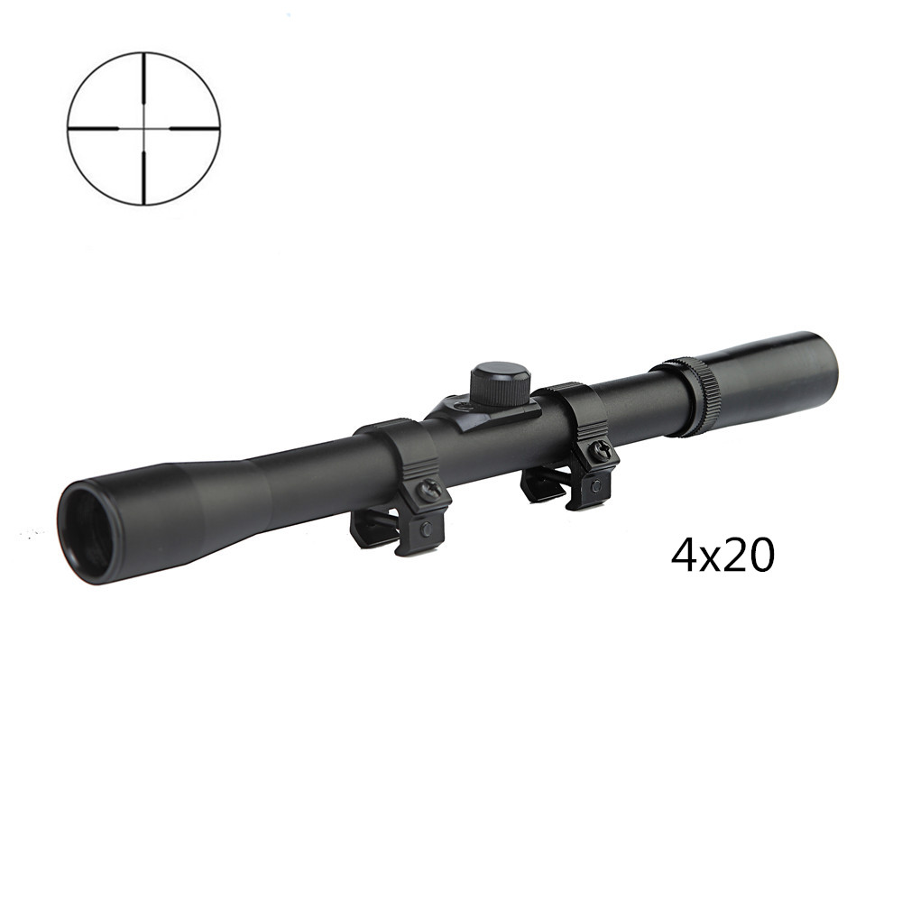 4x20 Hunting Riflescopes Sight Tactical Optics Airsoft Air Guns Scopes Sniper Reticle Pistol Reflex Sight Holographic Sight(China (Mainland))