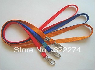 DISCOUNT!!!new custom company logo print MOBILE PHONE LANYARD / KEYS ID NECK STRAP lanyard retailer 10MM width 50pcs/lot(China (Mainland))