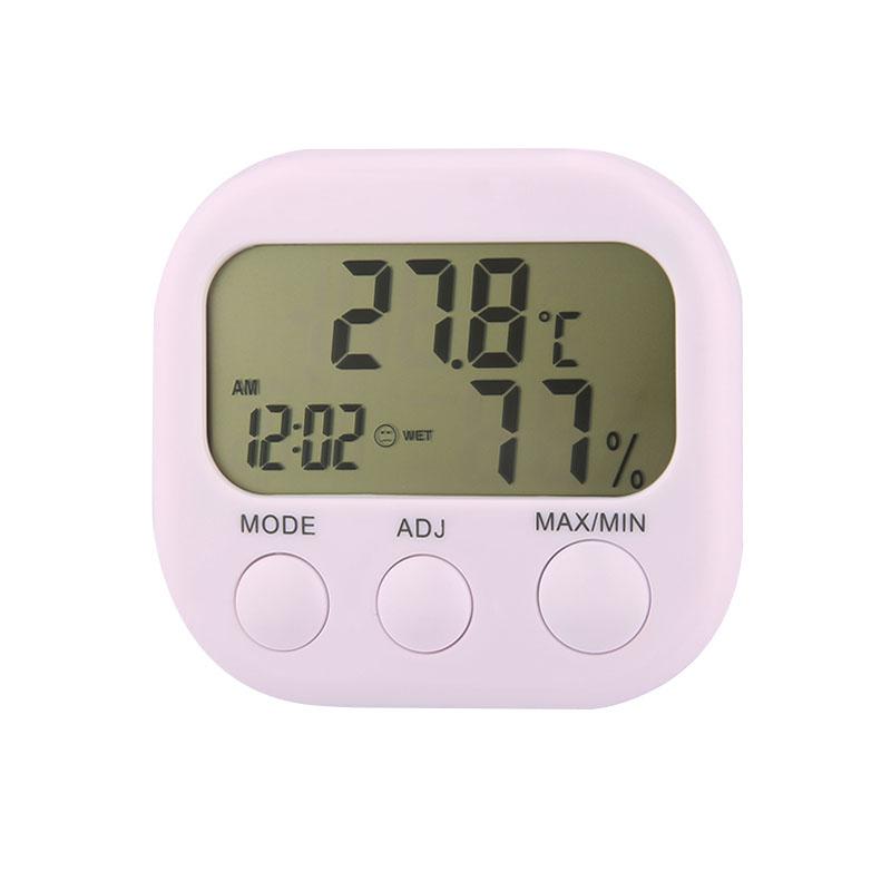 Гаджет  New arrival Indoor LCD Digital Thermometer Hygrometer Tester Humidity Meter Clock Clocks XC3009 None Инструменты