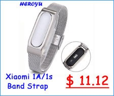 Replacement Xiaomi Mi Band 2 Stainless Steel Strap Wristband Wearable Xiaomi Wrist Accessories Band Belt for Miband 2 Strap