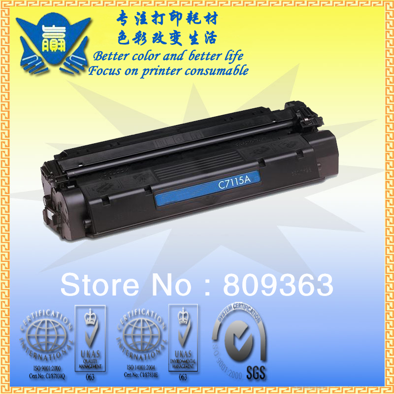 Free Shipping!!! Compatible Toner Cartridge C7115A 7115 15A for HP LaserJet 1000 1005 1200 1220 1005w 3330MFP(China (Mainland))